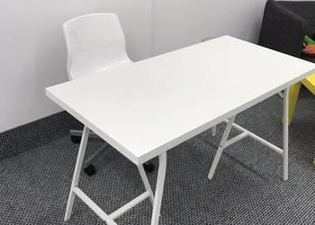 Nowy komplet IKEA biurko/stół + krzesło obrotowe- 130 zł