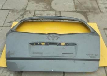 Toyota corolla verso 2004   2005   2006 2007 klapa tył