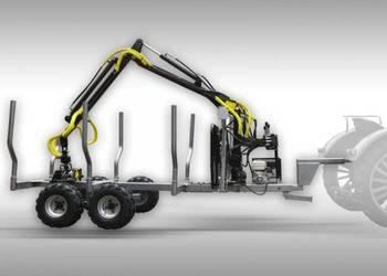 Wóz do przewozu drewna z HDS załadunkowym, max nośność 3T