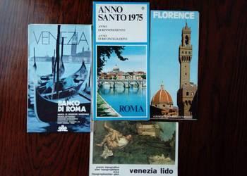 4 stare mapy miasta Włoch