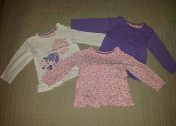 Zestaw 3 bluzeczek Mothercare 86