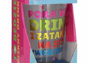 Nowa szklanka do drinków i napojów PAN DRAGON DRINK 400 ml