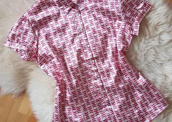TOP SECRET elegancka Koszula z Atłasem 34 36 XS S Nowy Sącz  zLYIc