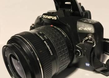 Aparat OLYMPUS E-420 + OBIEKTYW 17.5-45mm + 2GB
