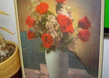 obraz puzle kwiatki 71/51cm