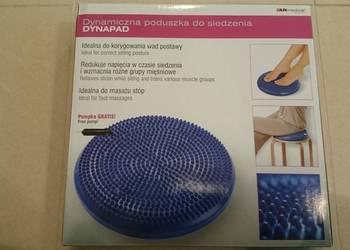 Pneumatyczna poduszka do siedzenia i ćwiczeń + pompka
