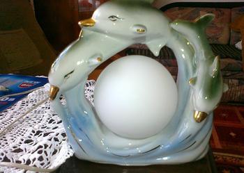 LAMPKA Porcelana,porcelanowa