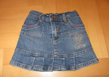 Levi's,spódnica jeans, mini ,92/98/104, z falbanką