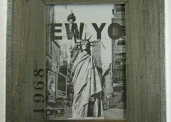 Ramka na zdjęcie drewniana NEW YORK LOFT Wysyłka gratis