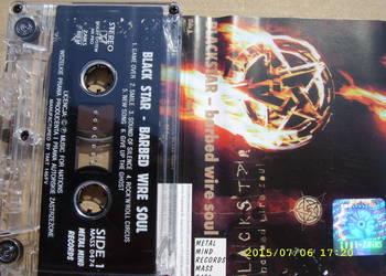 ROCK ,kaseta ;BLACK STAR--BARBED WIRE SOUL