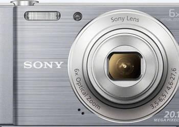 Aparat cyfrowy Sony Cyber-shot DSC-W810 (srebny)