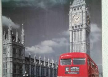 Plakat  Londyn  Red Bus