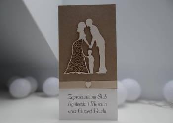 Zaproszenia na ślub i chrzest w jednym (2 w 1)