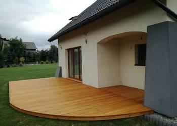 Tarasy drewniane, zabudowy balkonów, usługi stolarskie