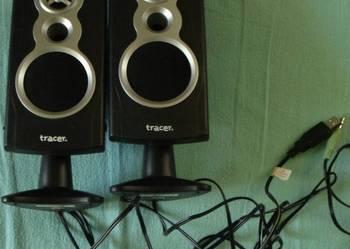 Głośniki do laptopa lub komputera.
