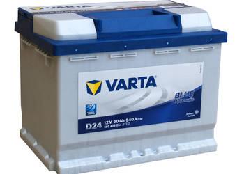 Akumulator VARTA BLUE D24 lub D59 60Ah/540A