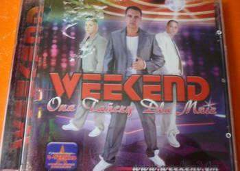 """Płyta CD Weekend """"Ona tańczy dla mnie"""" (pierwsze wydanie)"""