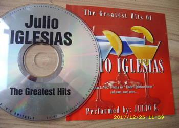 Pop CD ;JULIO IGLESIAS--THE GREATEST HITS.