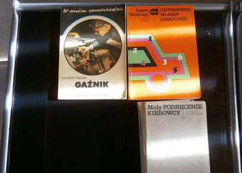 Książki  tematyczne z XX  wieku- budownictwo, elektronika
