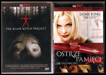 KOLEKCJA KINO GROZY Blair Witch Project, Ostrze pamięci 2 DVD TANIO