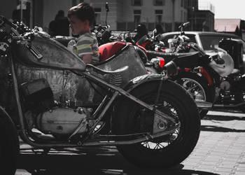 Dwa motocykle jawa 350 bobber w cenie 1
