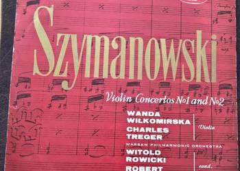 Płyty Winylowe Szymanowski Violin Concertos No1 and No2