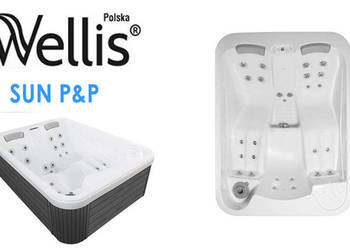 Wanna spa jacuzzi Wellis Sun P&P 3 osoby