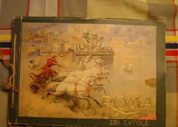 Włoski fotoalbum o Rzymie.
