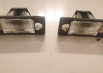 lampki  podświetlające tablice rejestracyjną golf4 kombi