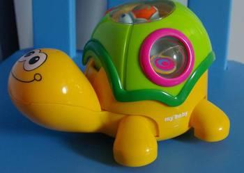 Zółw my baby zabawka edukacyjna do raczkowania