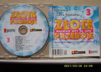 CD skladanka ; ZLOTE PRZEBOJE 3.