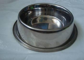 Miska stalowa dla psa