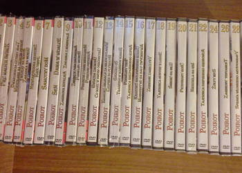 Agatha Christie Poirot kolekcja wielcy detektywi
