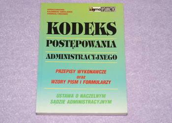 Kodeks postepowania administacyjnego