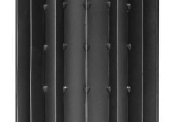 Rura ogniodporna do pieca,kominka -RADIATOR fi120/500-jakość