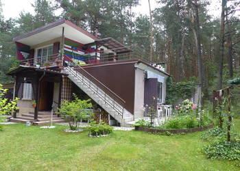 Dom Letniskowy piętrowy z działką rekreacyjną w lesie