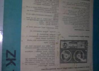 magnrtofon zk 145-schematy dane techniczne