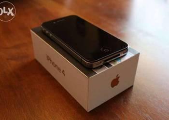 Piekny perlowo czarny iPhone 4 G komplet z salonu iSpot