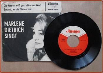 Marlene Dietrich Sign, 1964