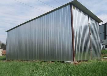 Garaż blaszany 3x5 ocynk garaże blaszane producent najtaniej
