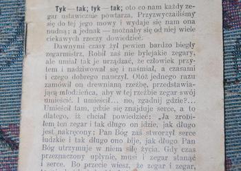"""Broszura """"Chwila stanowcza"""" z 1905r."""