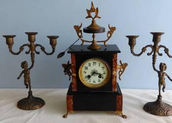 Stary Zegar Kominkowy Napoleon III
