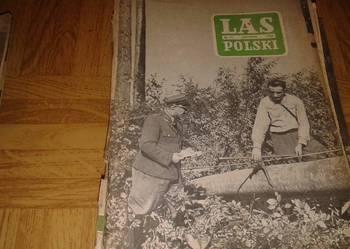 czasopisma las polski 1950r-1980r