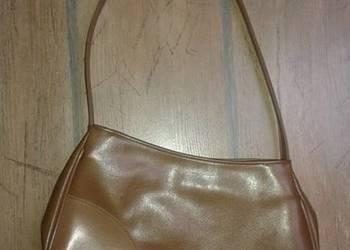 Jasno-brązowa karmelowa torebka na ramię