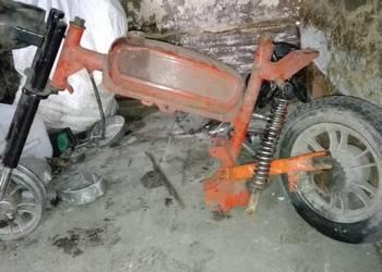Motorynka w częściach