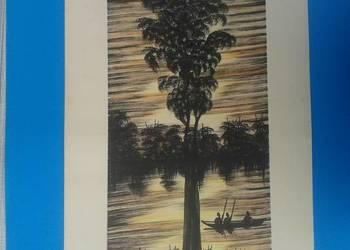 6. Wykonawca - Artysta - MWAMBA - Oryginalny rysunek z Zambi