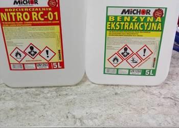 Rozcieńczalnik nitro zmywacz benzyna 5l Pabianice