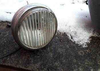 Lampa i zbiornik zabytkowy