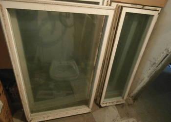 Okna drewniane po demontażu różne wymiary
