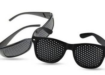 Okulary ajurwedyjskie leczące wzrok bez soczewkowe